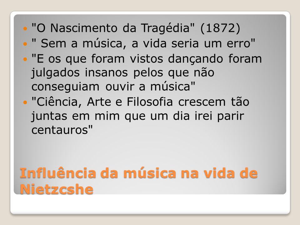 Influência da música na vida de Nietzcshe