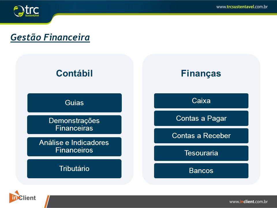 Gestão Financeira Contábil Finanças Caixa Guias Contas a Pagar