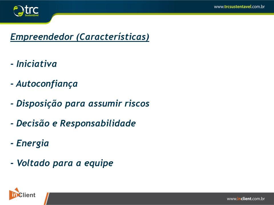 Empreendedor (Características)