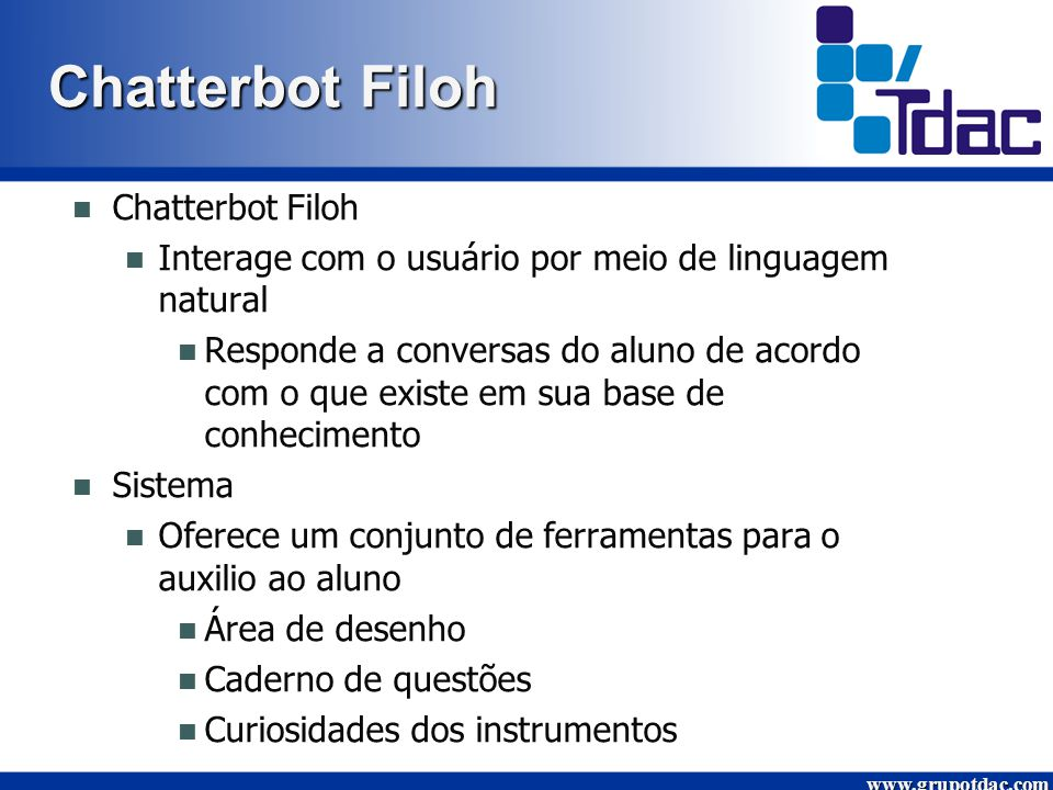 Chatterbot Filoh Chatterbot Filoh