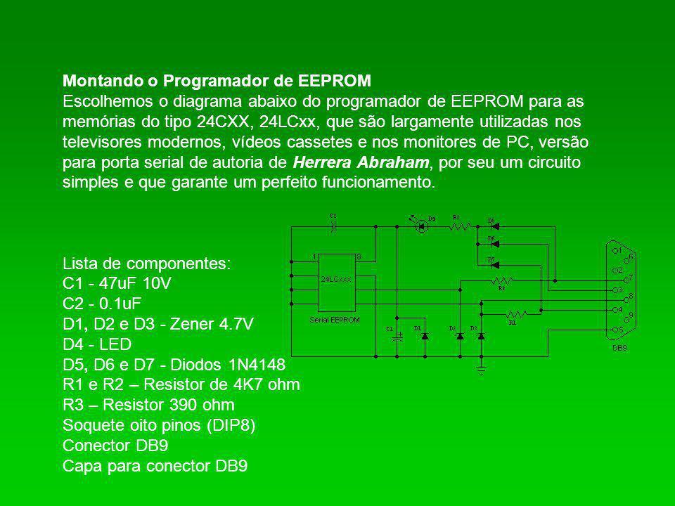 Montando o Programador de EEPROM