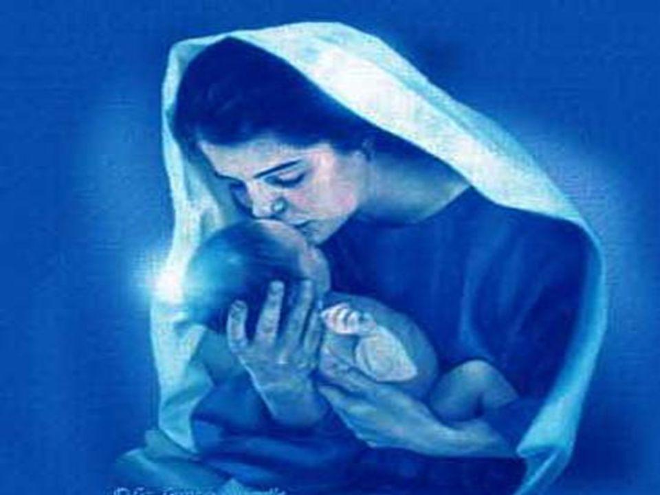 E eu conheci uma pessoa muito especial lá no céu chamada Maria, Ela é linda.
