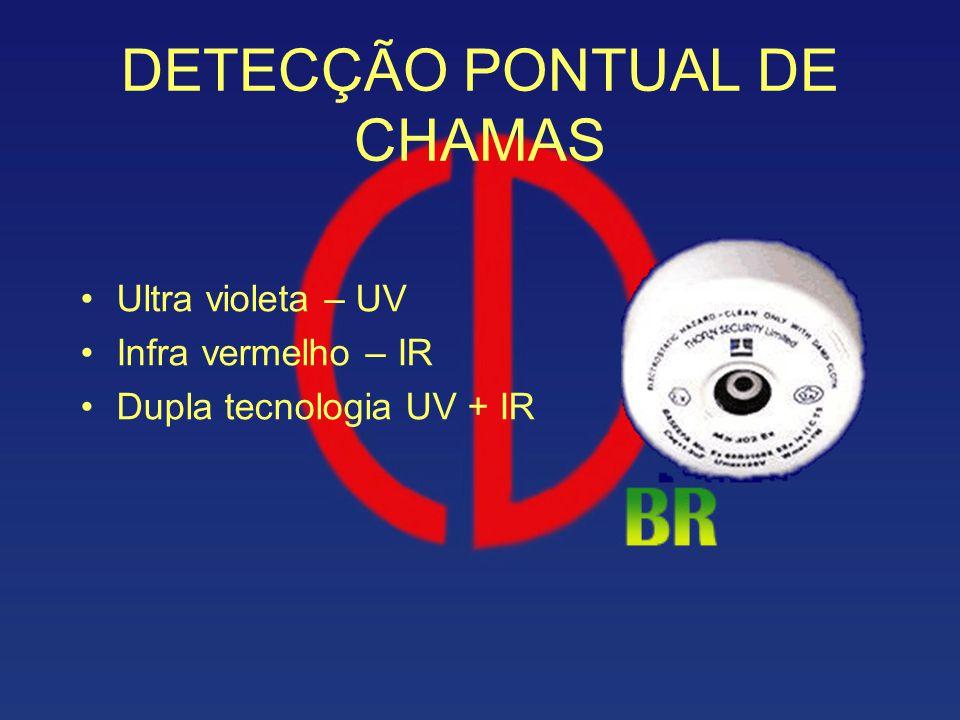 DETECÇÃO PONTUAL DE CHAMAS