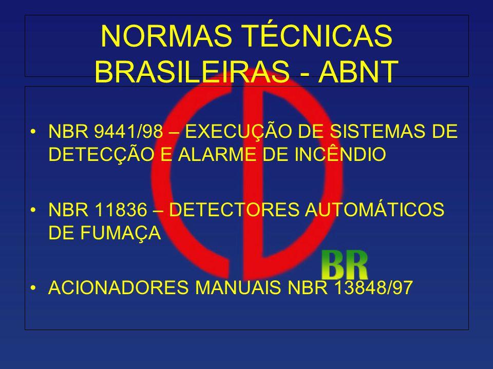 NORMAS TÉCNICAS BRASILEIRAS - ABNT