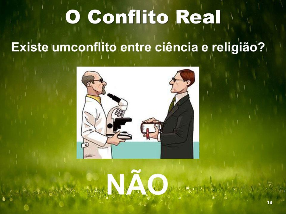 Existe umconflito entre ciência e religião