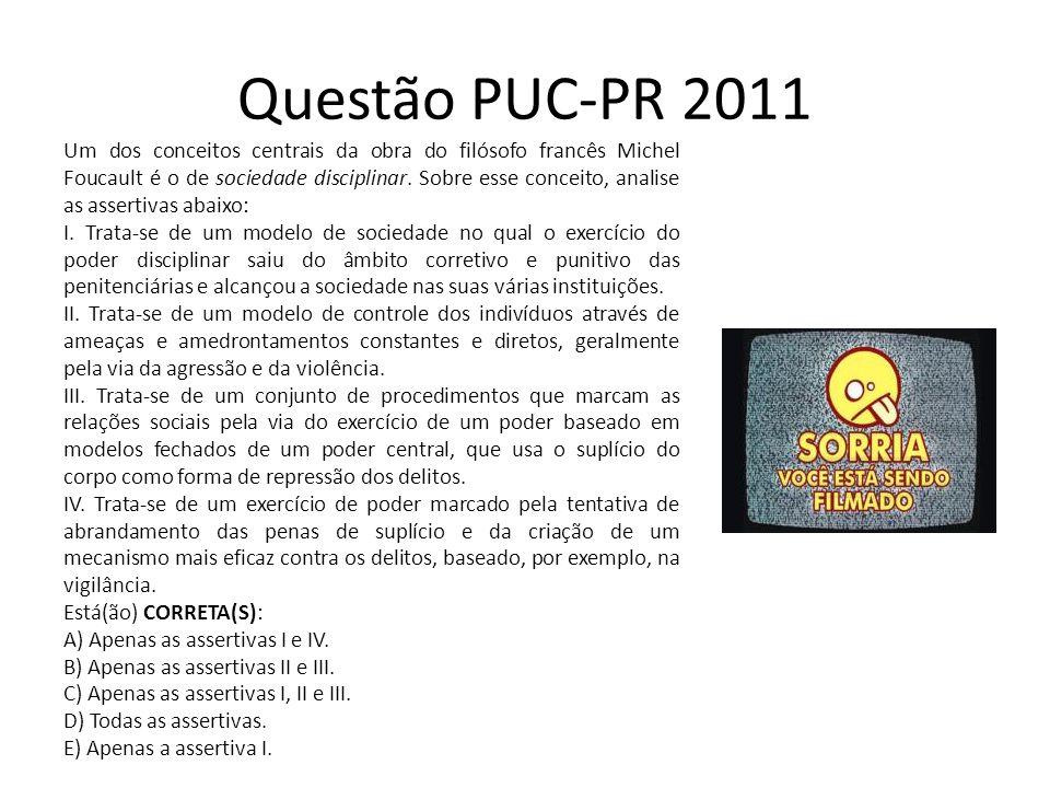 Questão PUC-PR 2011