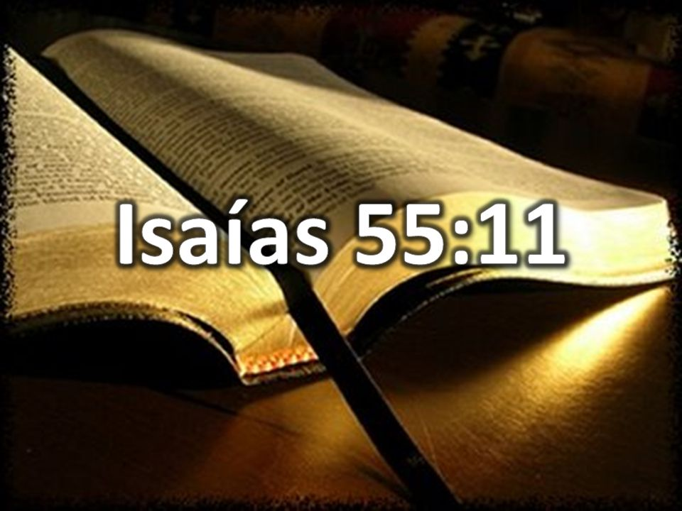 Isaías 55:11