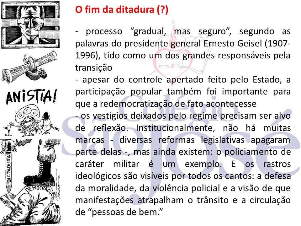 O fim da ditadura ( )