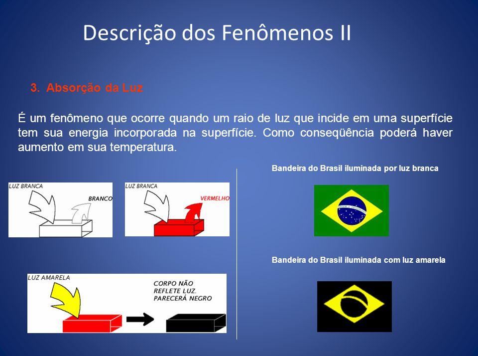 Descrição dos Fenômenos II