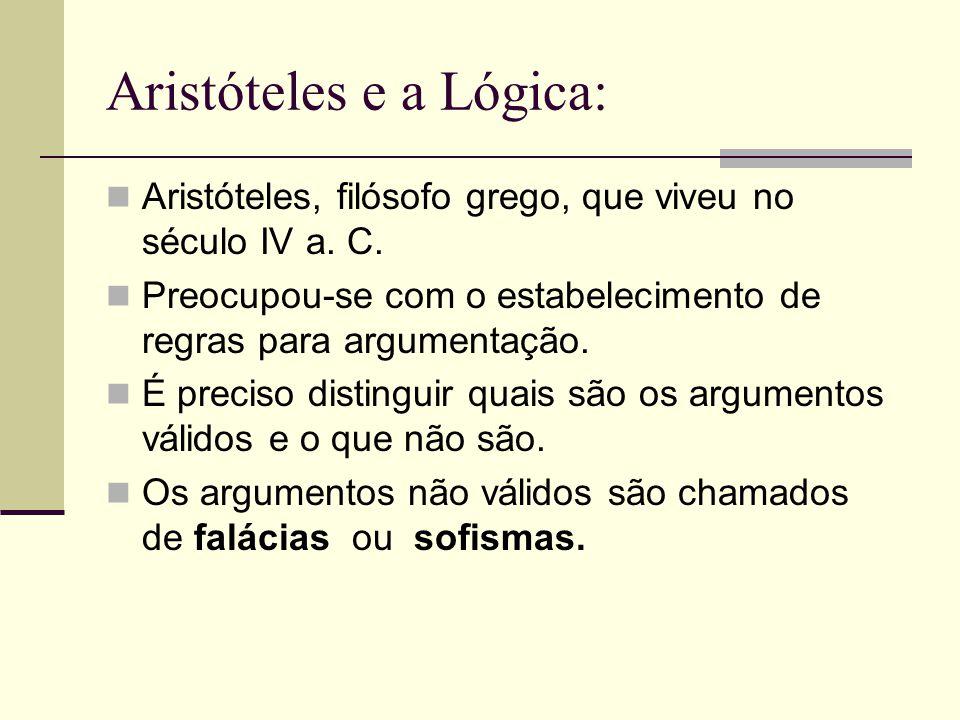 Aristóteles e a Lógica: