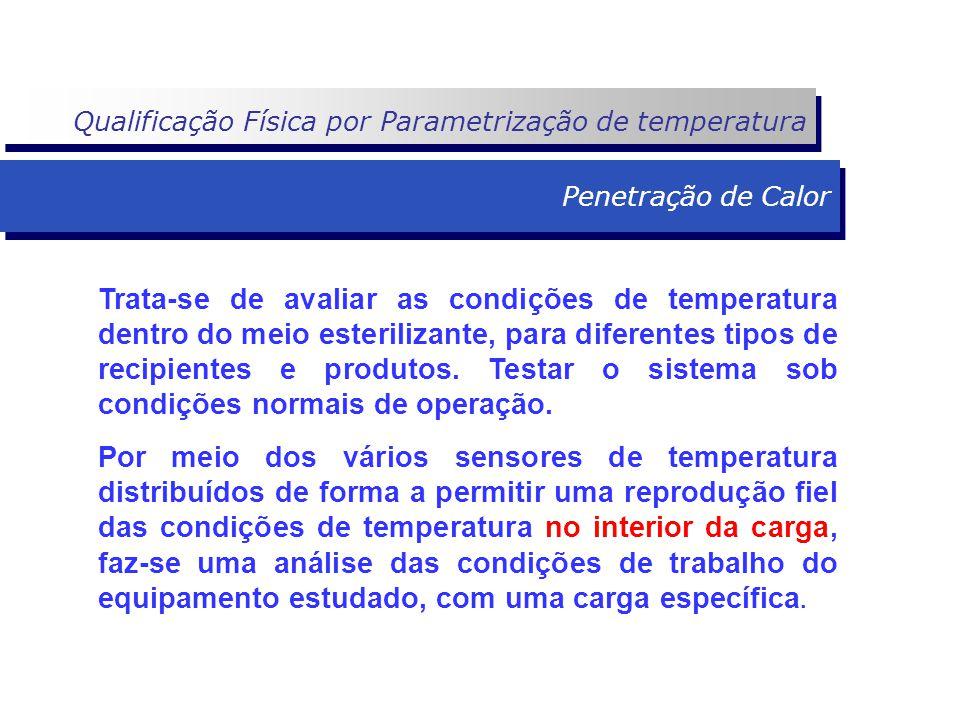 Qualificação Física por Parametrização de temperatura