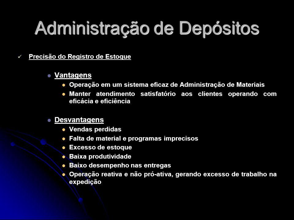 Administração de Depósitos