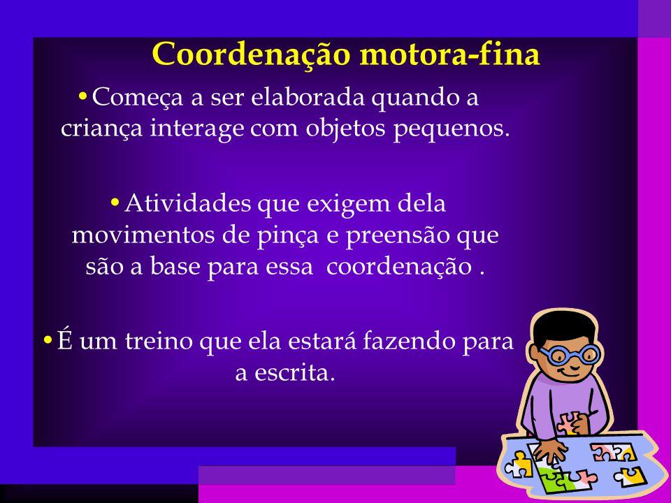 Coordenação motora-fina