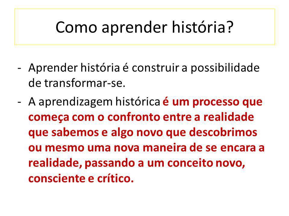 Como aprender história
