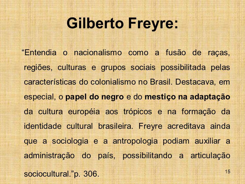 Gilberto Freyre: