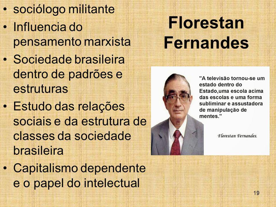 Florestan Fernandes sociólogo militante
