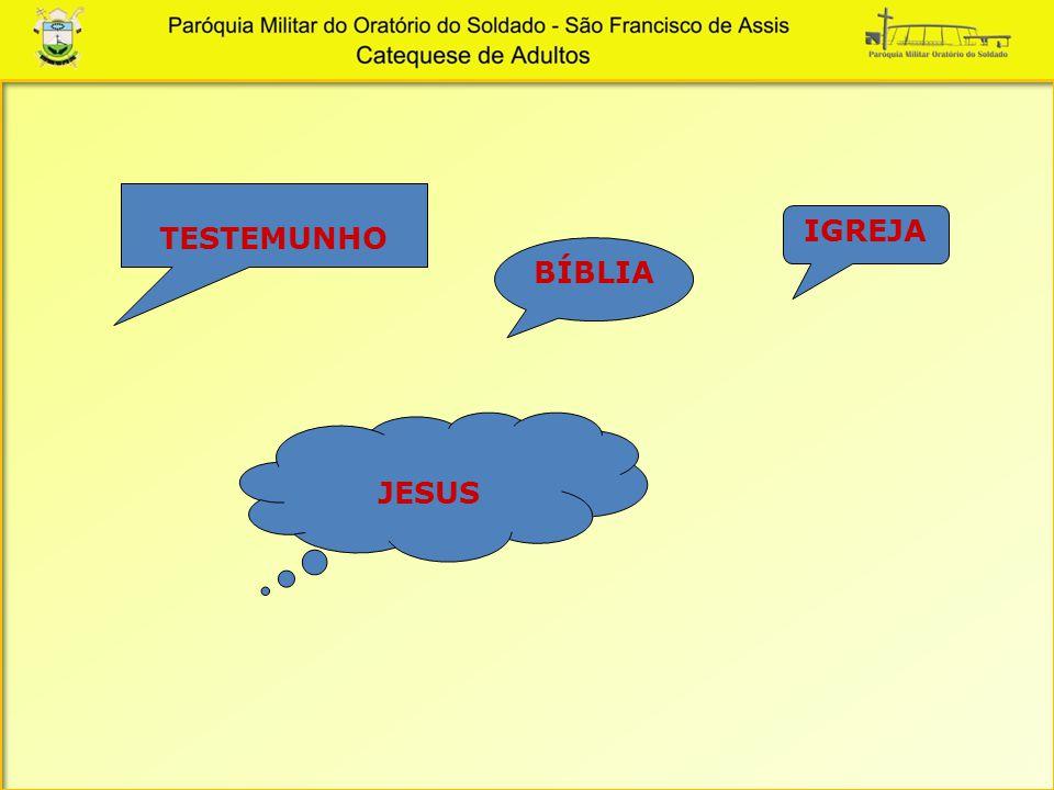 TESTEMUNHO IGREJA BÍBLIA JESUS