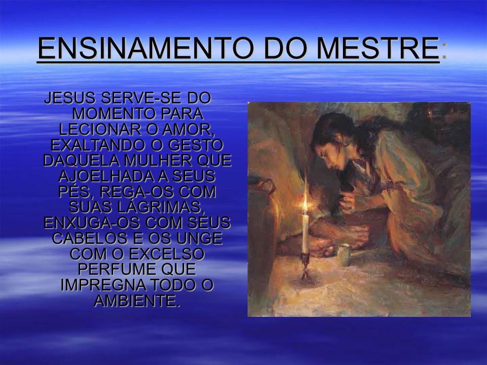 ENSINAMENTO DO MESTRE: