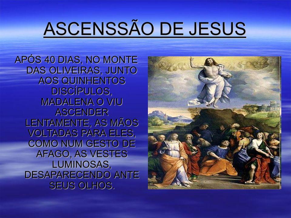 ASCENSSÃO DE JESUS