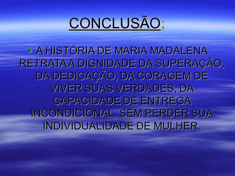 CONCLUSÃO;