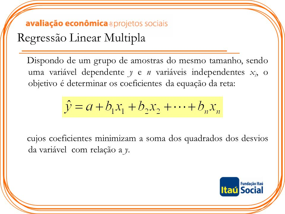 Regressão Linear Multipla