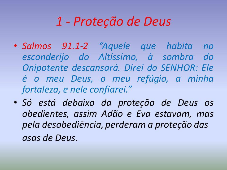 1 - Proteção de Deus