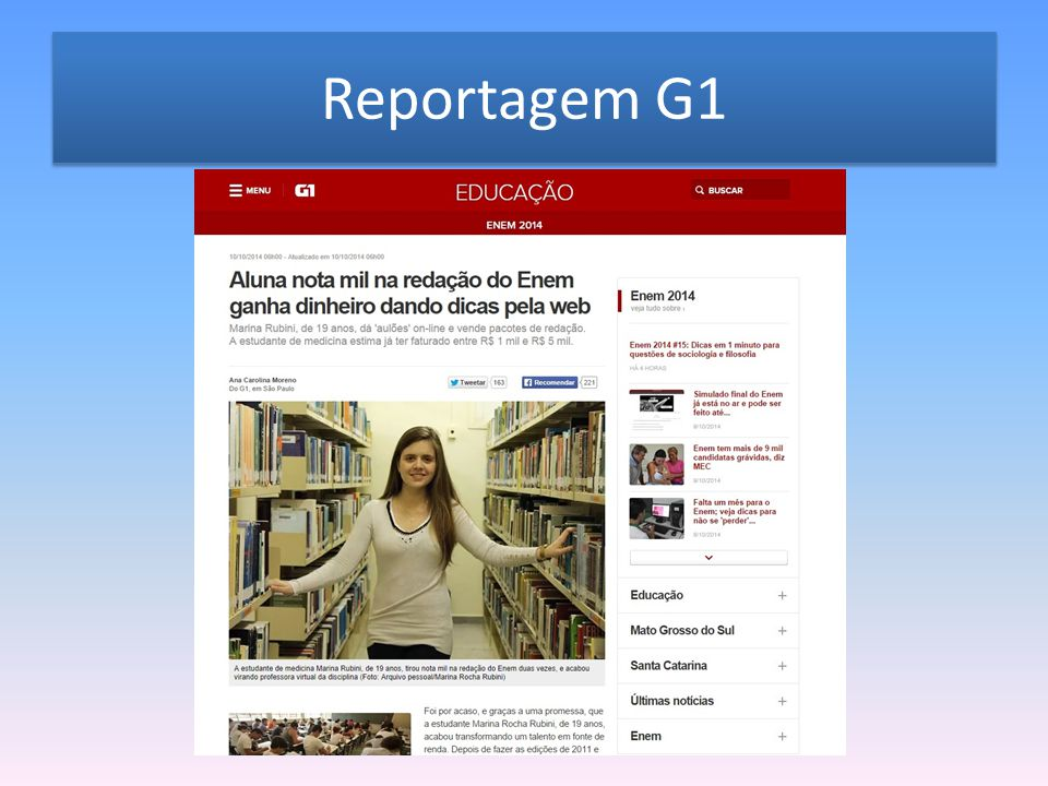 Reportagem G1