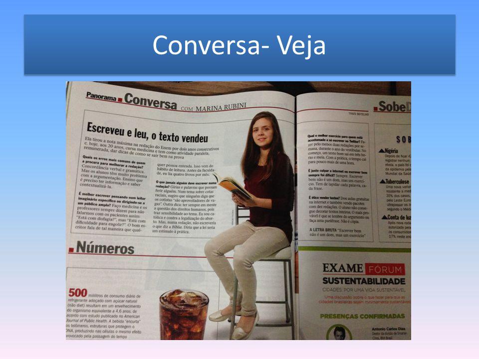 Conversa- Veja