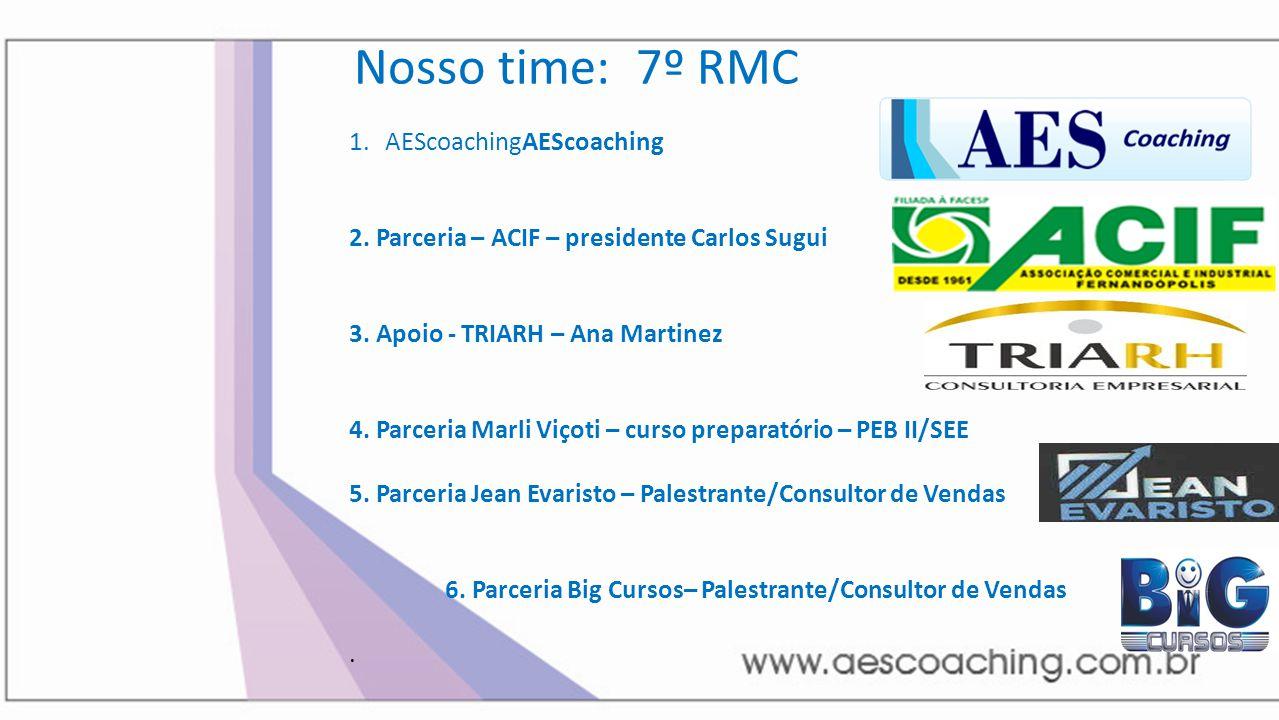 Nosso time: 7º RMC AEScoachingAEScoaching