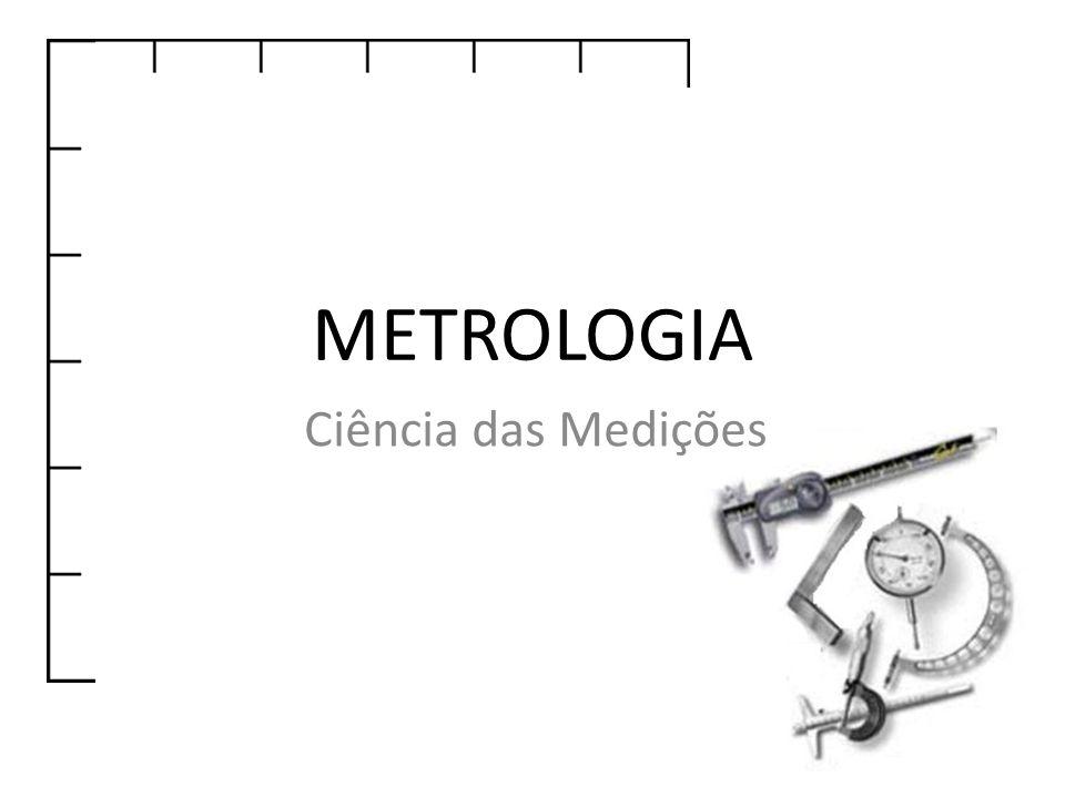 METROLOGIA Ciência das Medições