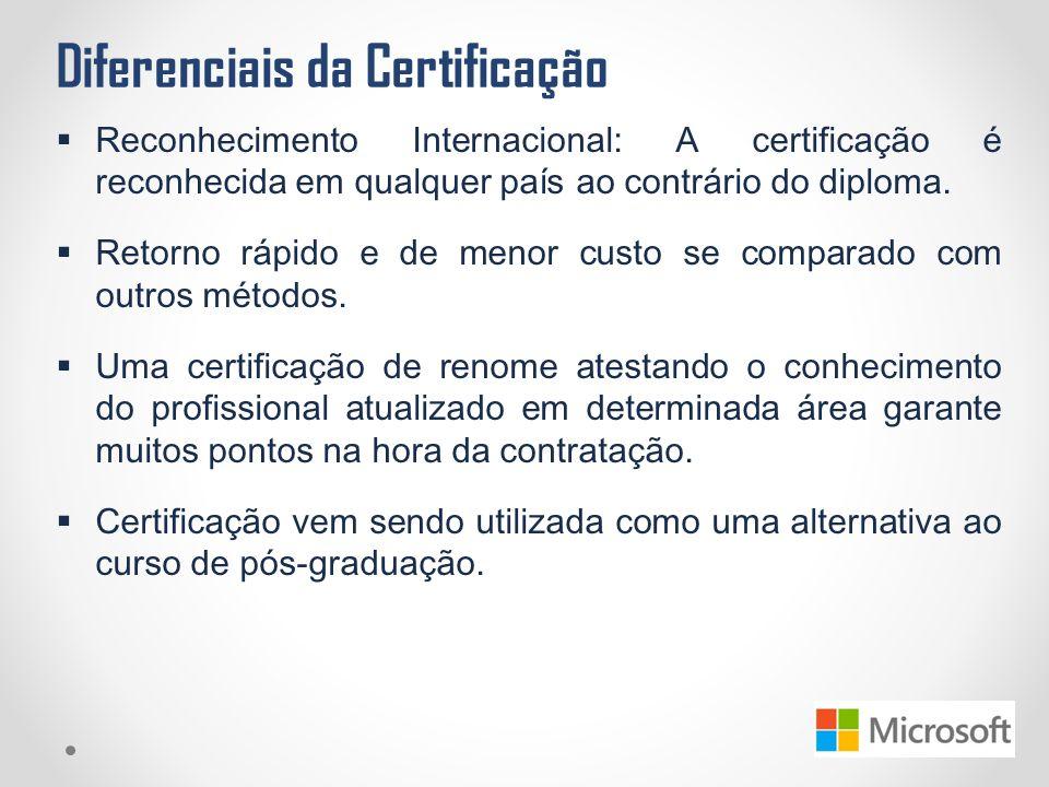 Diferenciais da Certificação