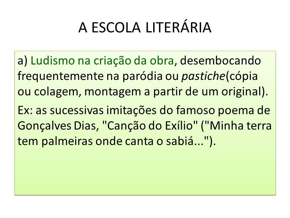 A ESCOLA LITERÁRIA