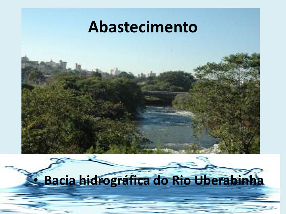 Bacia hidrográfica do Rio Uberabinha