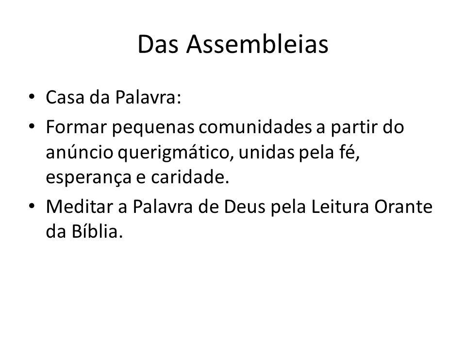 Das Assembleias Casa da Palavra: