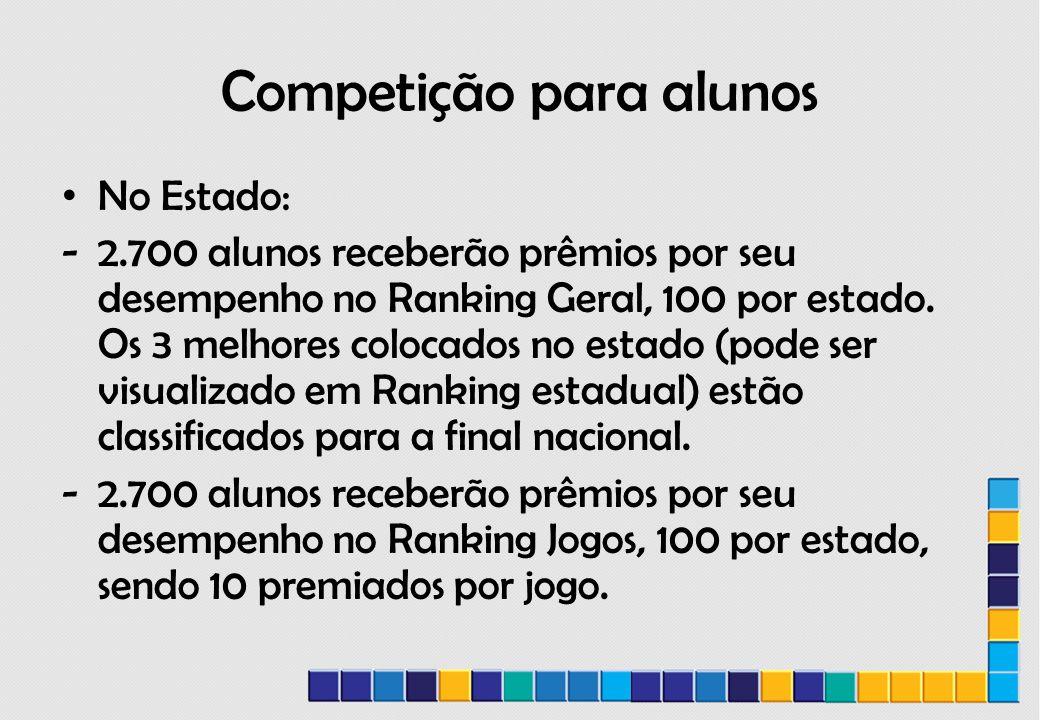 Competição para alunos
