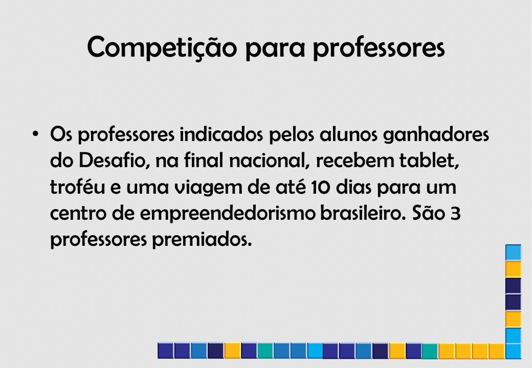 Competição para professores
