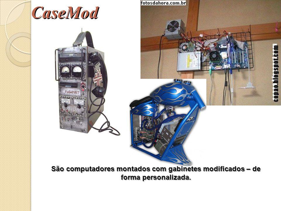 CaseMod São computadores montados com gabinetes modificados – de forma personalizada.