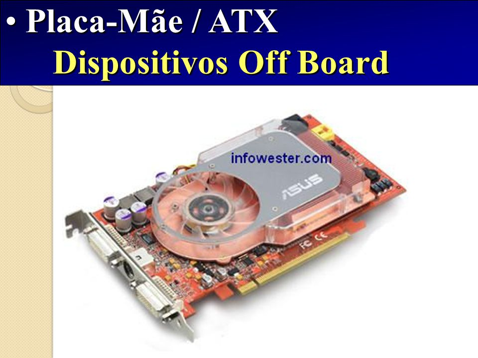 Placa-Mãe / ATX Dispositivos Off Board