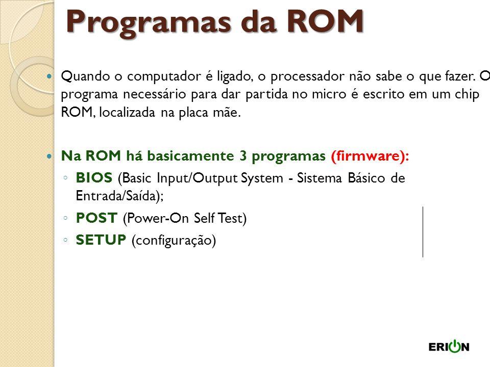Programas da ROM