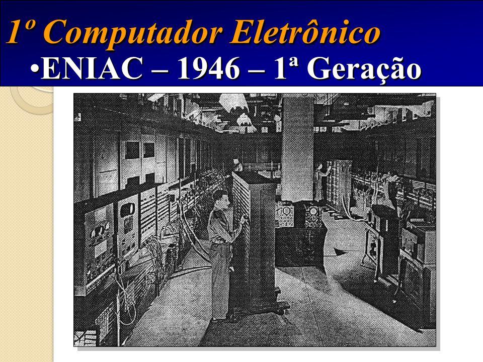1º Computador Eletrônico