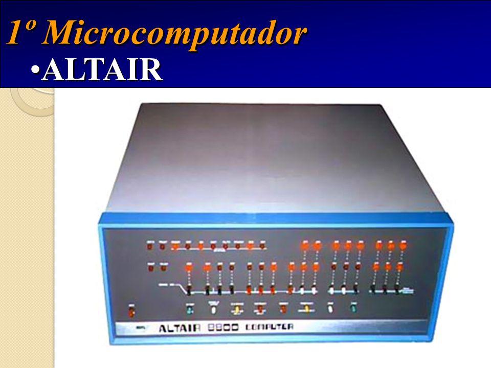 1º Microcomputador ALTAIR