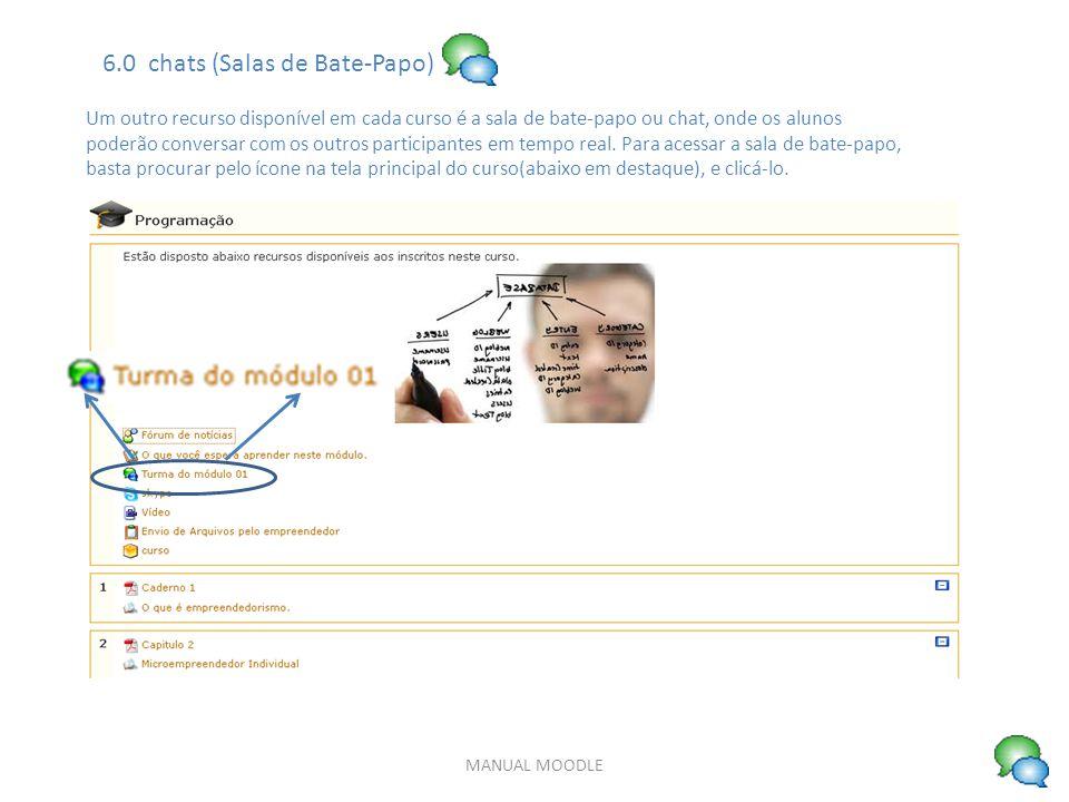 6.0 chats (Salas de Bate-Papo)