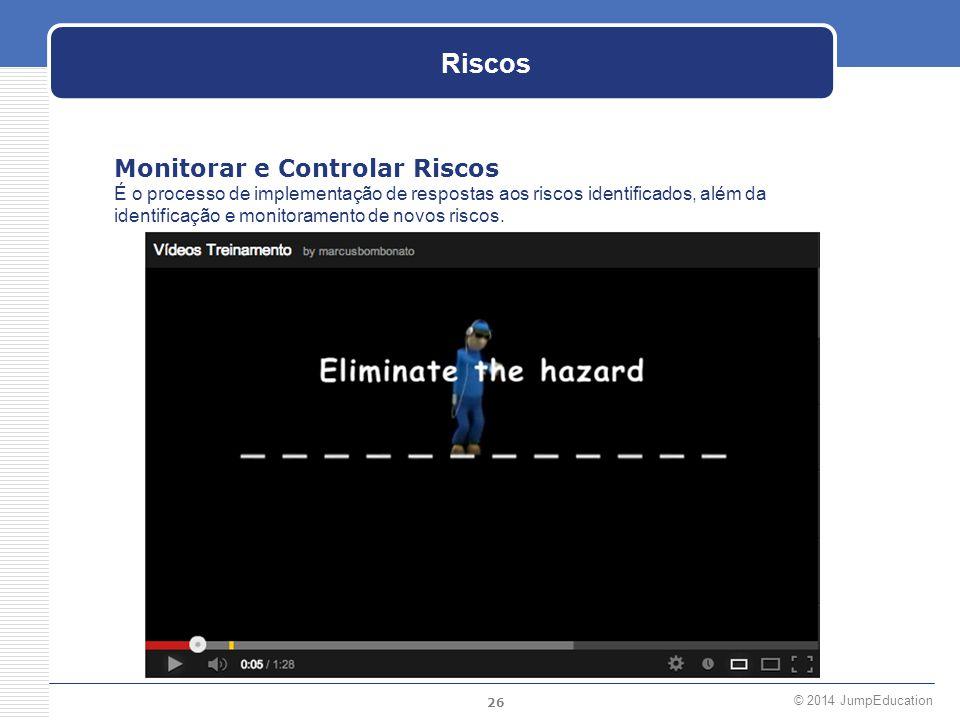Riscos Monitorar e Controlar Riscos