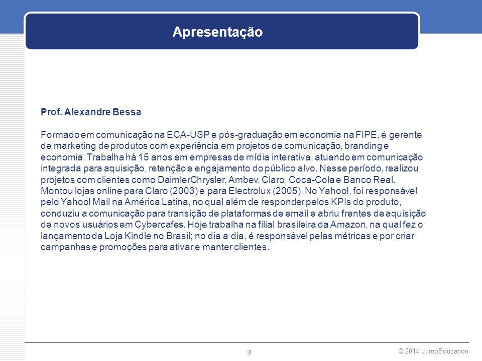 Apresentação Prof. Alexandre Bessa