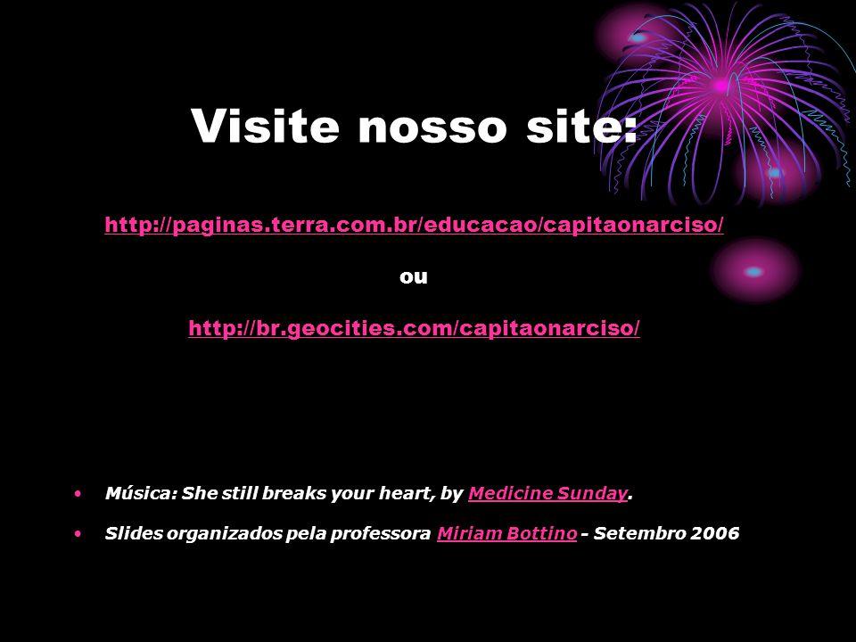 Visite nosso site: http://paginas. terra. com