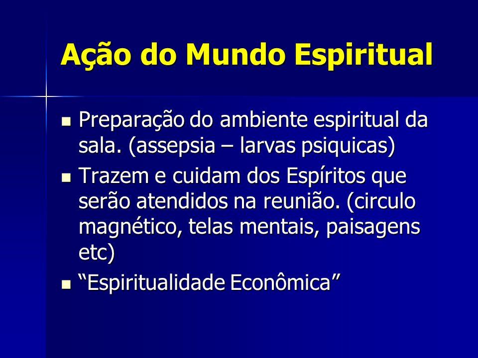 Ação do Mundo Espiritual