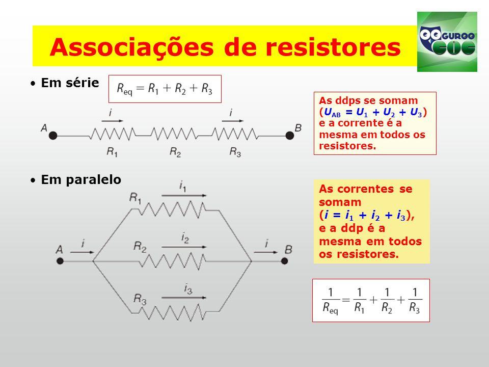 Associações de resistores