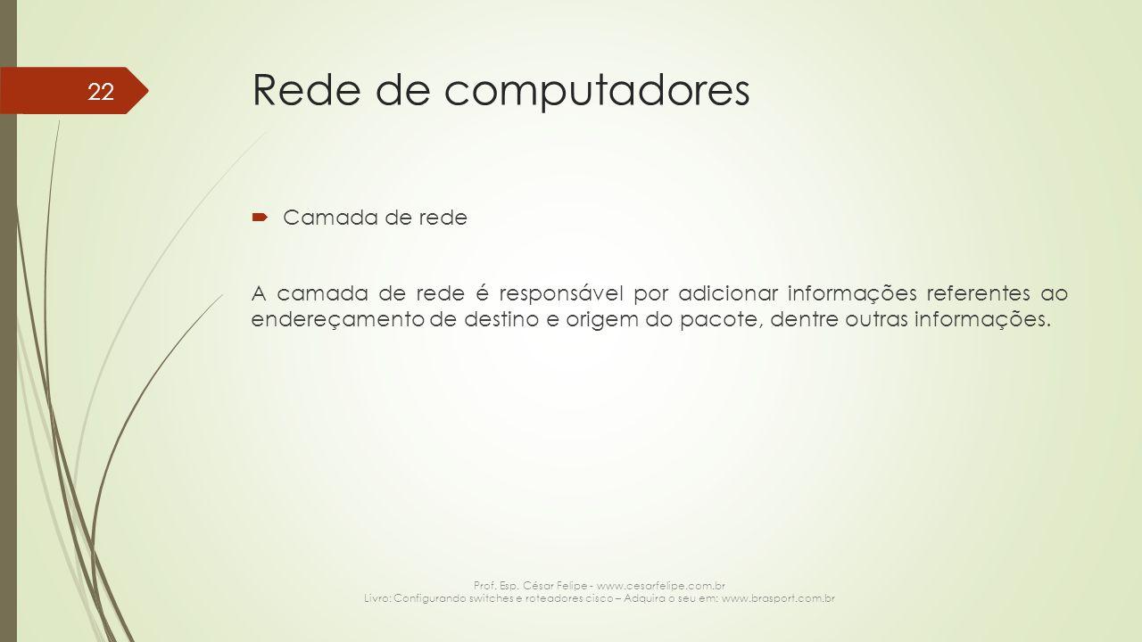 Prof. Esp. César Felipe - www.cesarfelipe.com.br