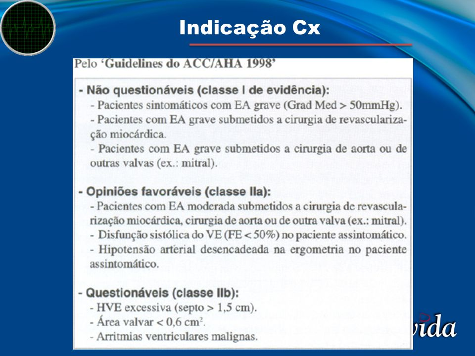 Indicação Cx