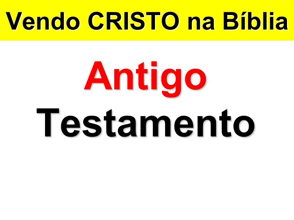 Vendo CRISTO na Bíblia Antigo Testamento